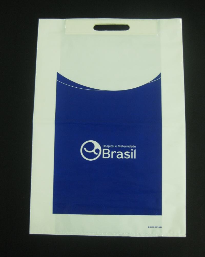 Sacolas Plásticas para Hospitais e Laboratórios com Fecho Tala Alça Boca Vazada