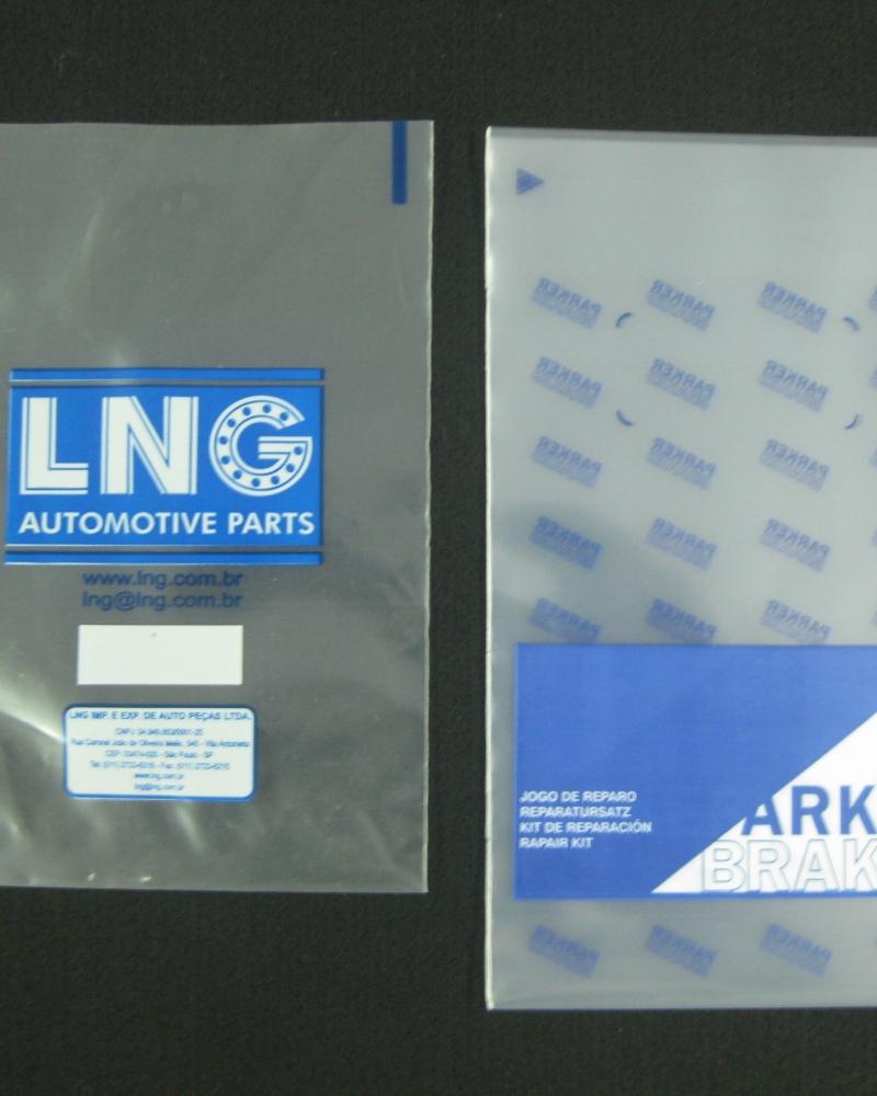 Sacos plásticos para Peças e Kits Automotivos