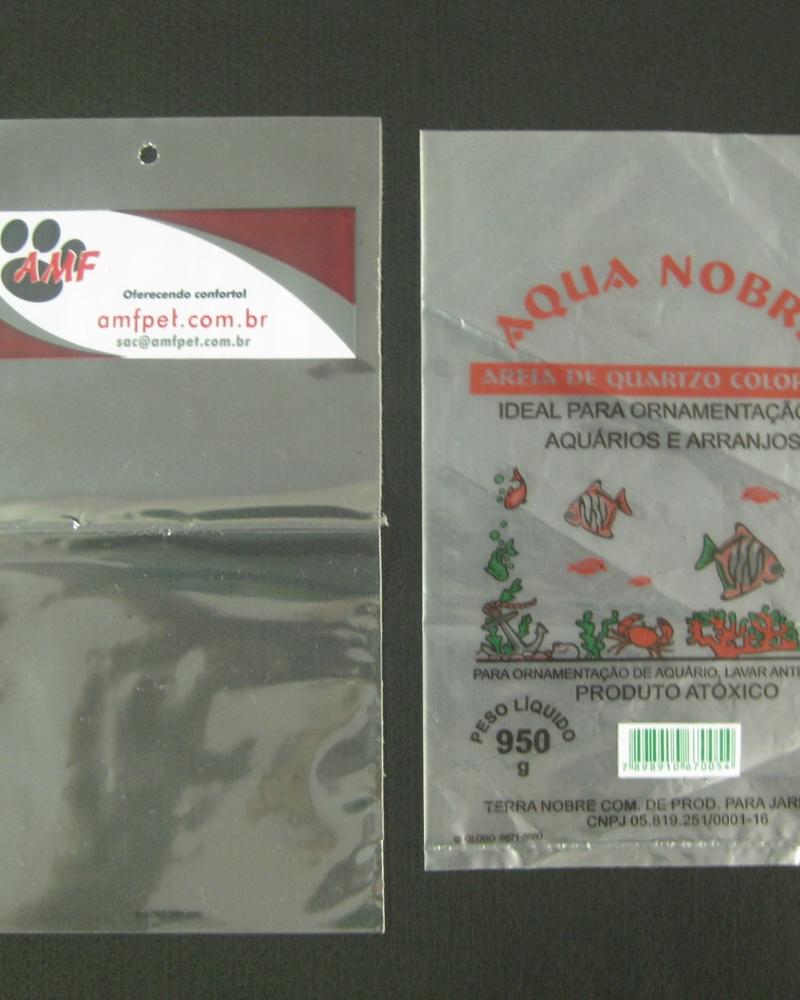 Sacos Plásticos para Produtos de Aquário