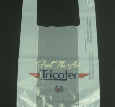 Sacolas Plásticas Alça Camiseta para Lojas e Confecções