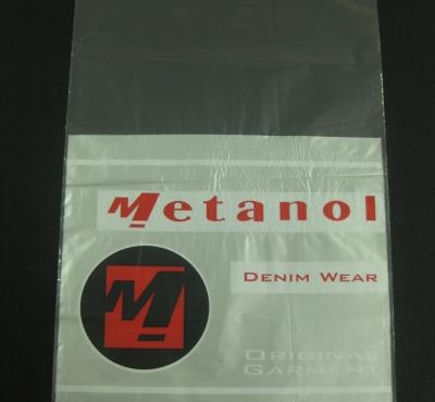 Sacos Plásticos para Confecções Tipo Fronha ou Aba e Fita com Solapa e Boca Reta