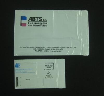 Envelope de Segurança para Cartão de Crédito, Benefícios e Cheques