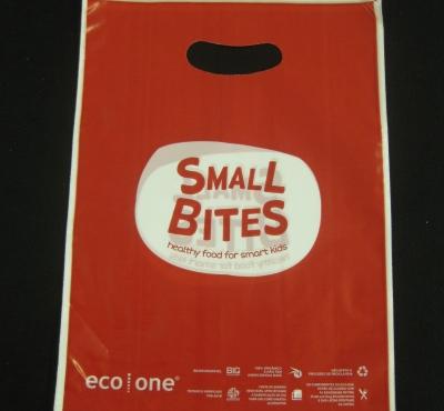 Sacolas Pl�sticas para Kit de Lanches Al�a Boca Vazada