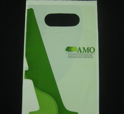 Sacolas Plásticas para Lixeira de Carro Alça Boca Vazada