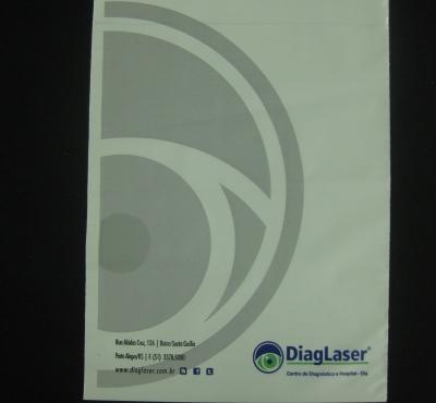 Envelopes Plásticos para Chapas de RX e Tomografia com Aba e Fita