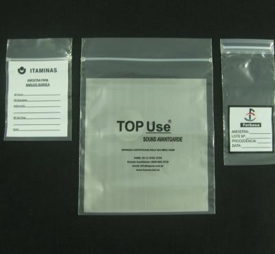 Sacos Plásticos com Fecho Zip para Peças, Acessórios, Amostras em Geral