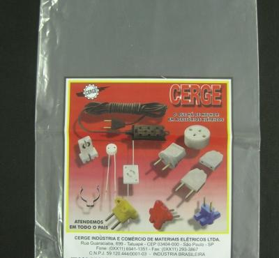 Sacos Plásticos Para Equipamentos, Peças e Acessórios Eletro-Eletrônico Boca Reta