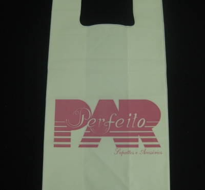 Sacolas Plásticas para Calçados Alça Camiseta