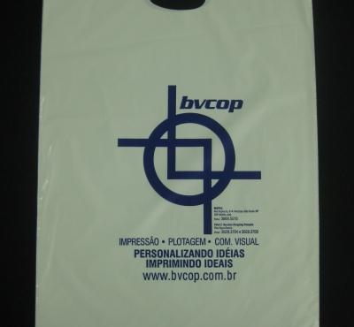 Sacolas Plásticas para Copiadora Alça Boca Vazada