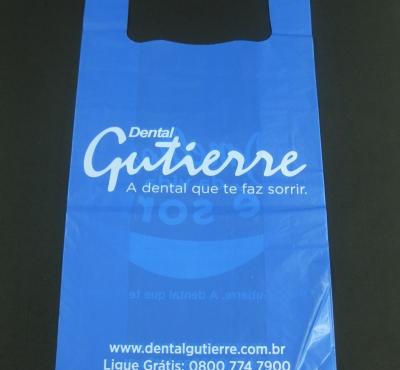 Sacola Plástica Alça Camiseta para Lojas e Produtos e Geral