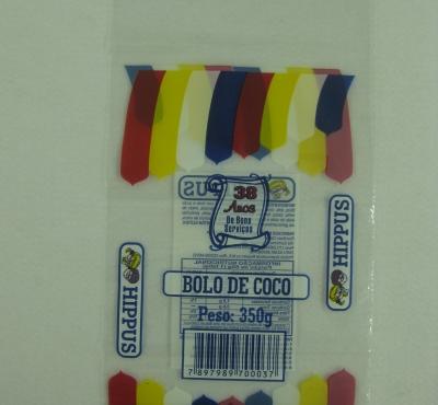 Sacos Plásticos Para Pães e Bolos Doces