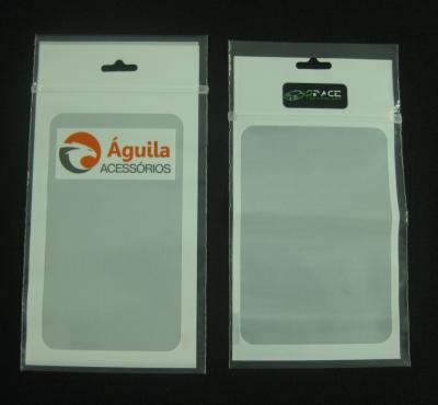 Sacos Plásticos com Fecho Zip para Acessórios de Celulares