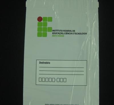 Envelopes de Seguran�a para Institui��es de Ensino para Guarda de Provas e Objetos Pessoais de Alunos