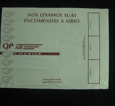 Envelopes de Segurança para Empresas de Transportes Aéreos Tipo Flyers