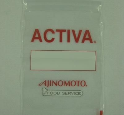 Saco Plástico com Fecho Zip para Alimentos em Geral